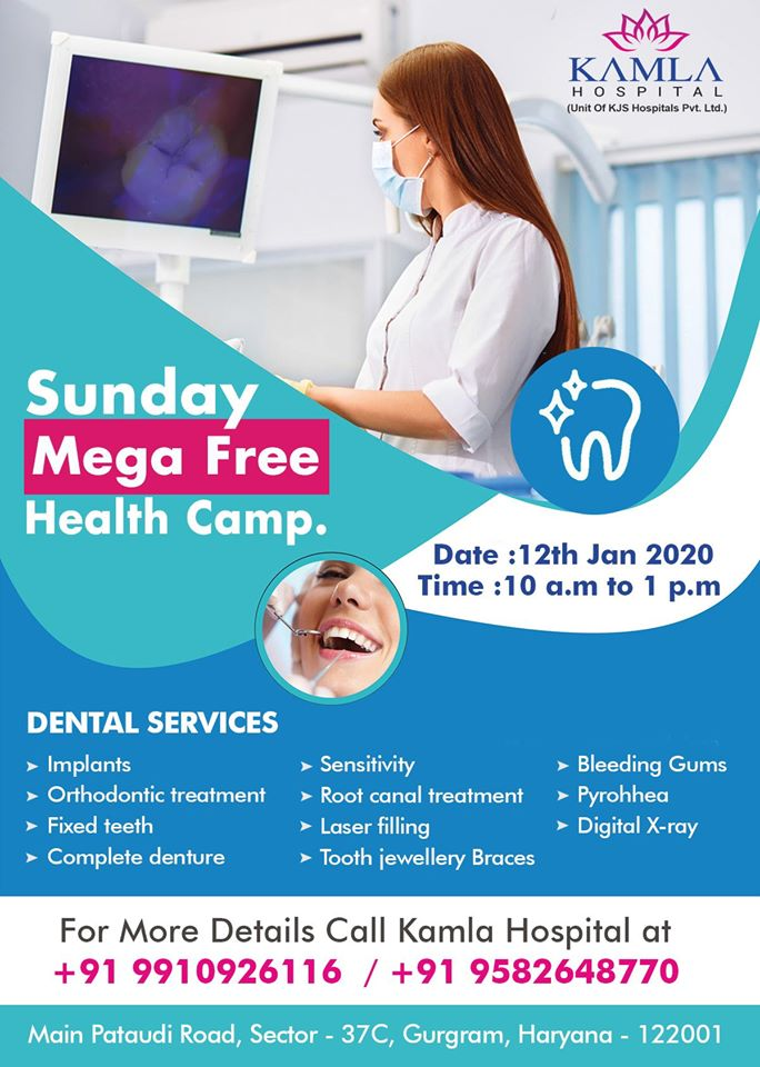 Free Dental Checkup and Awareness Camp