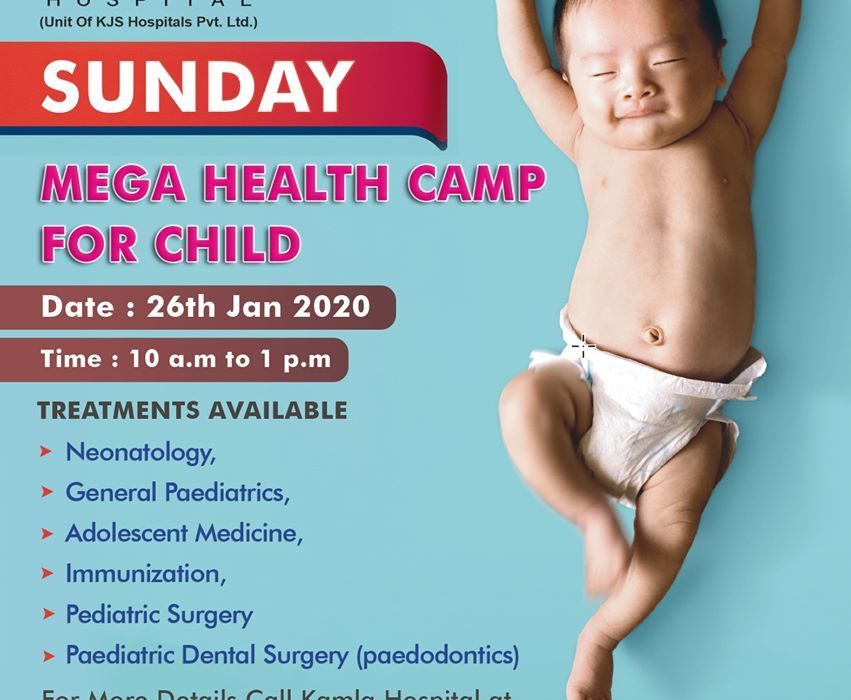 Health check-up camp conducting for children
